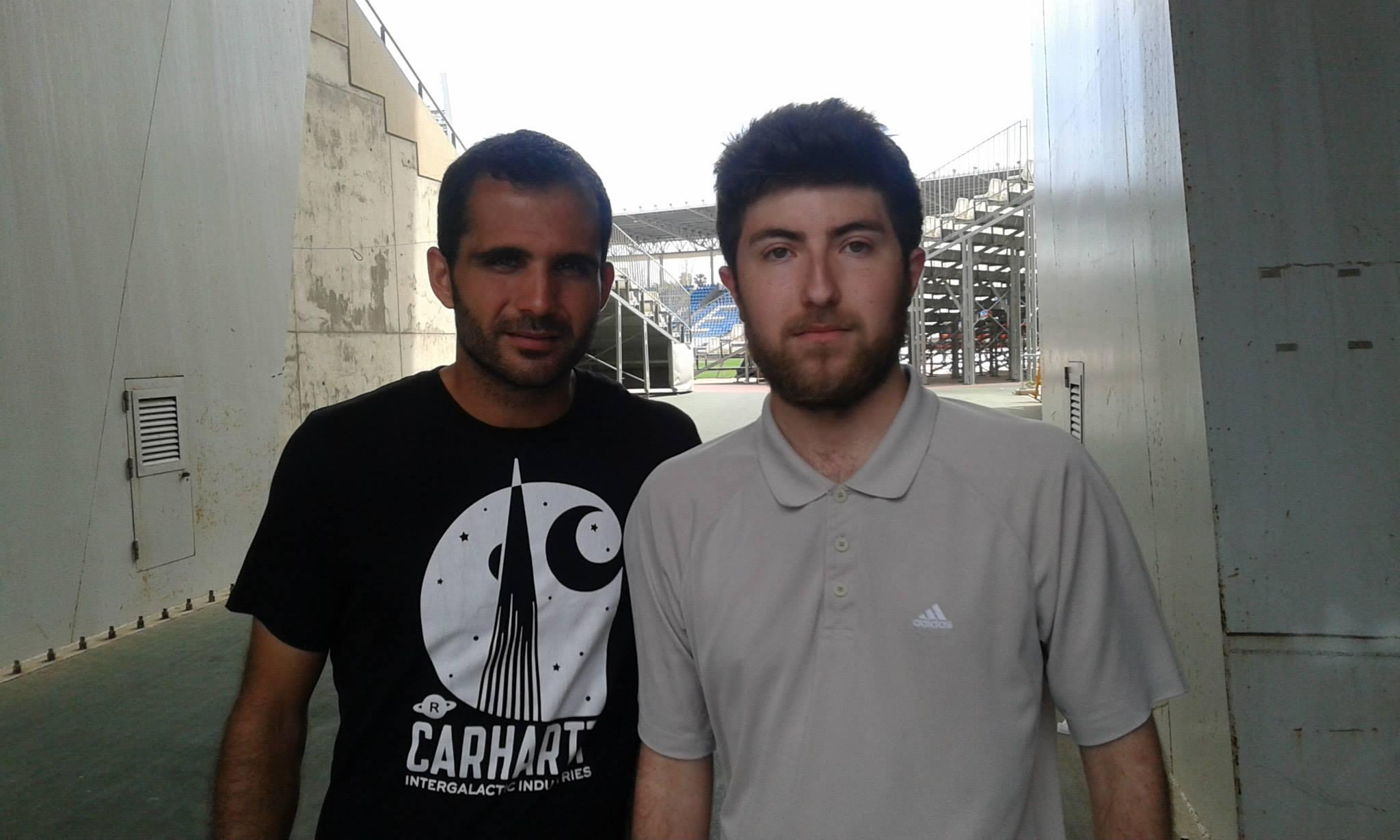 Verza, al salir del entrenamiento /Javier Cortés García